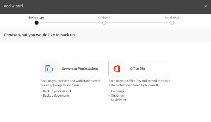 Backup para Office 365
