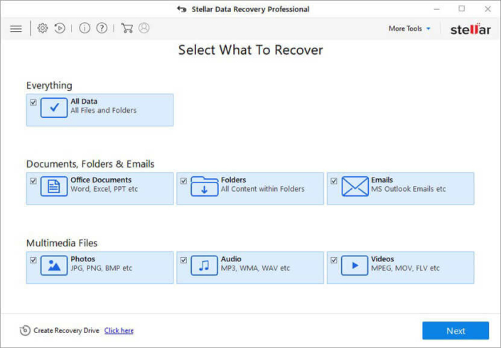 comprar Stellar Data Recovery Professional Windows