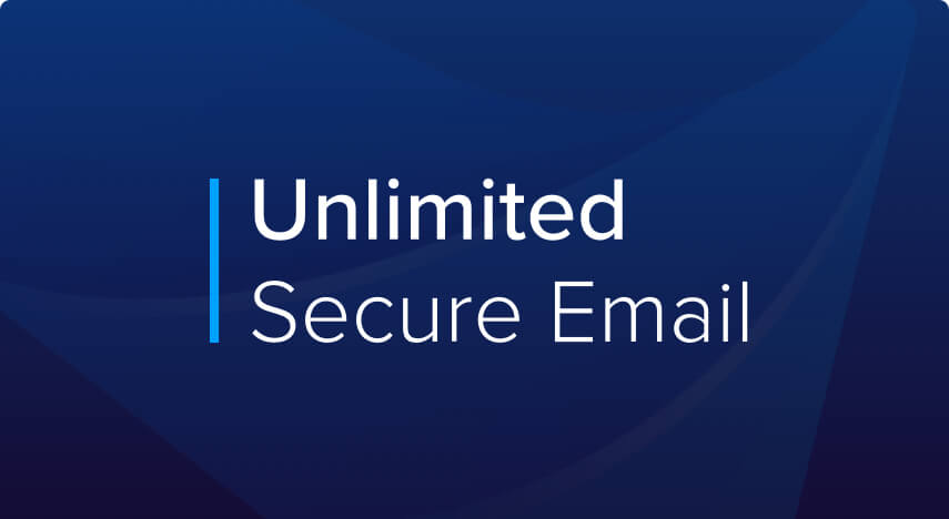 unlimited secure email