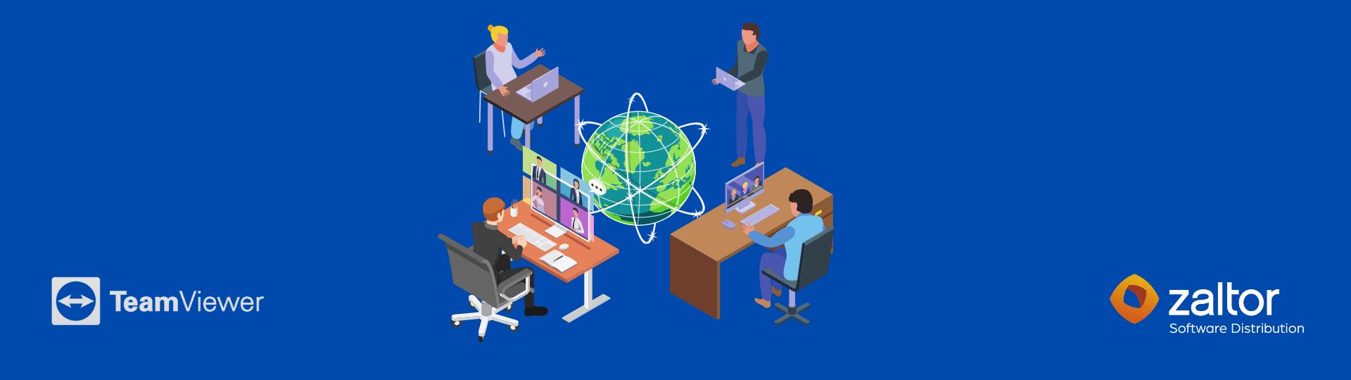 teamviewer meeting software definitivo videollamadas reuniones online